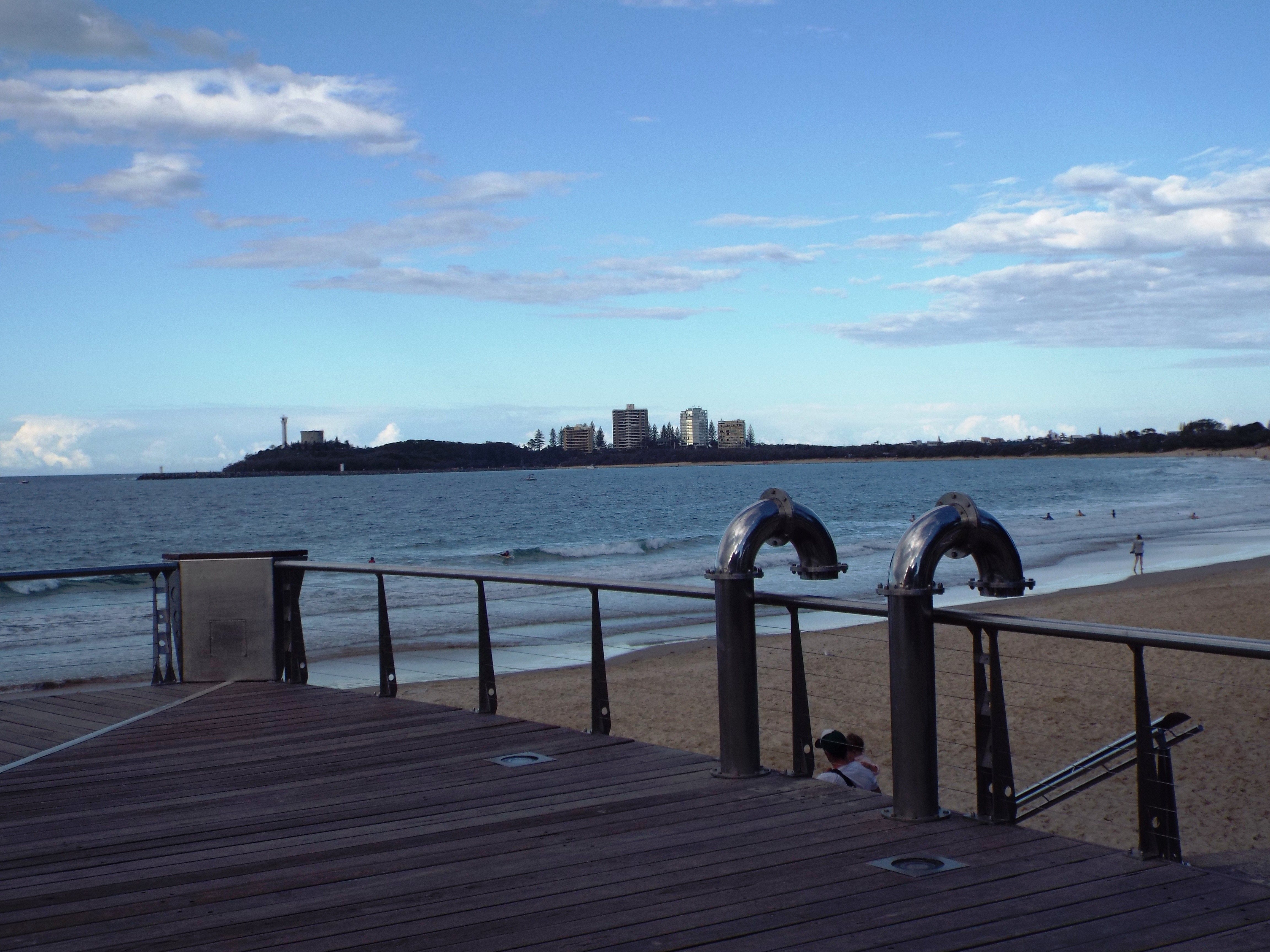 Mooloolaba Beach from Loo with a View