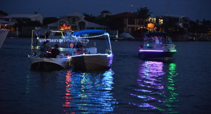 Christmas Boat Parade in Newsletter October 2016