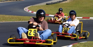 Drive to the Big Kart Track