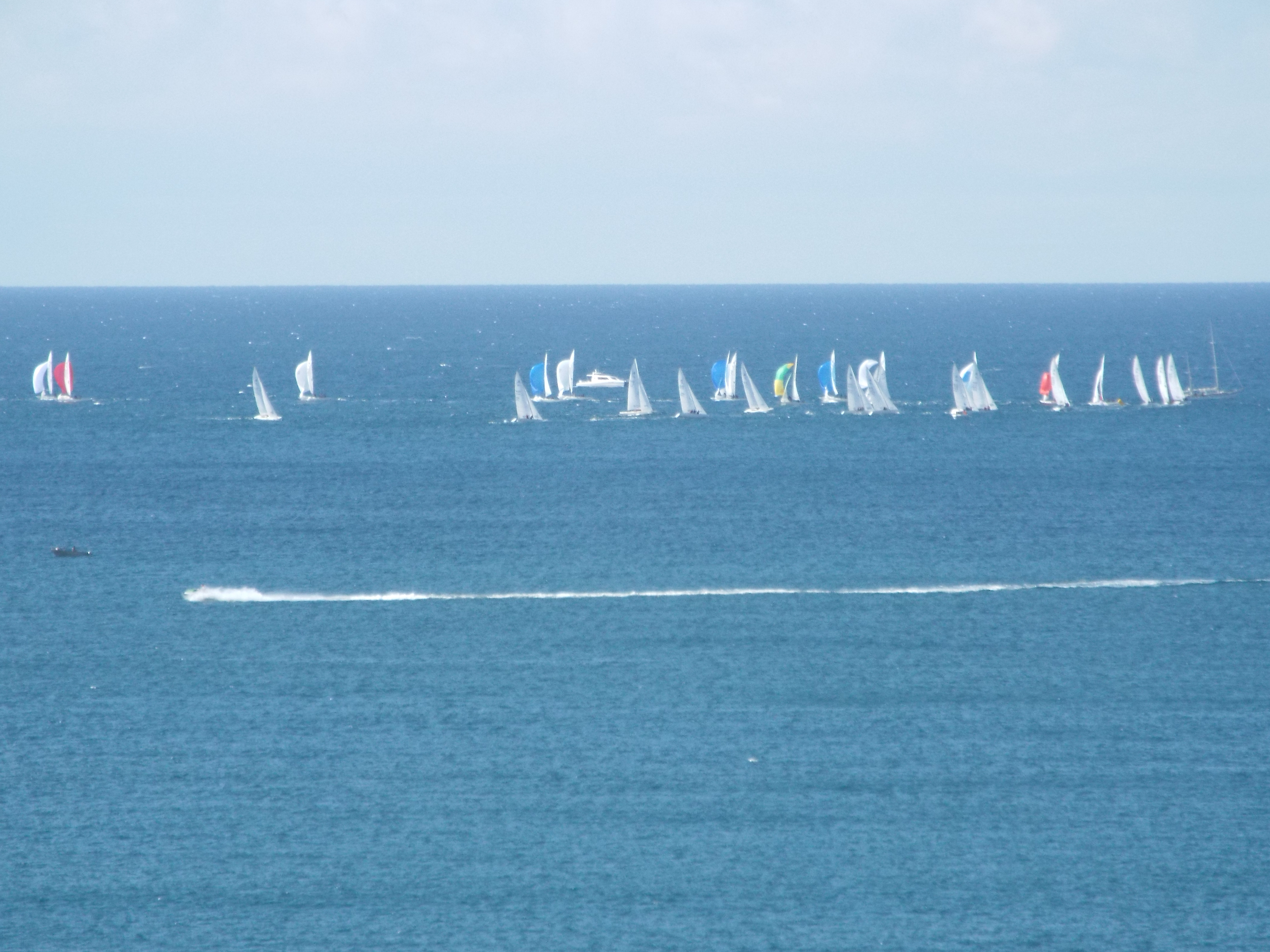 Off shore racing