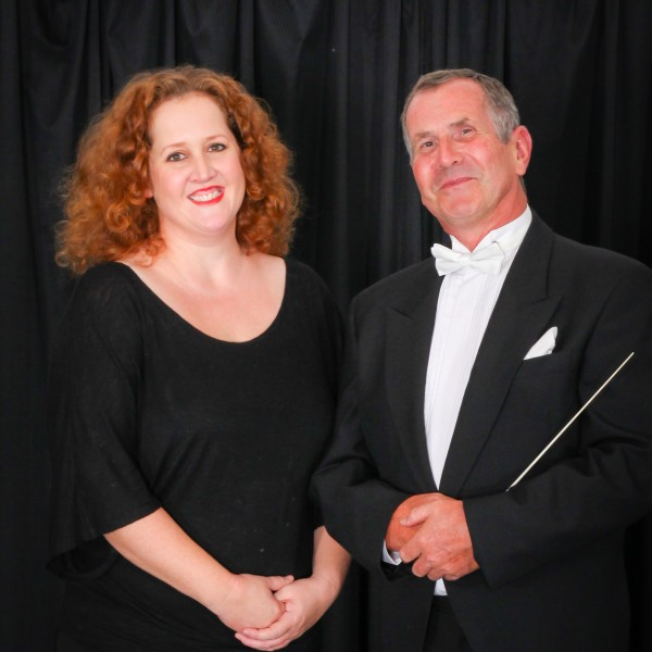 Conductor Adrian King and accompanist Natasha Koch