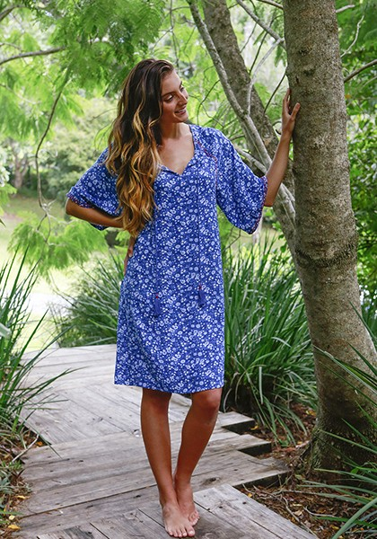 Cotton dress from Cotton Diva